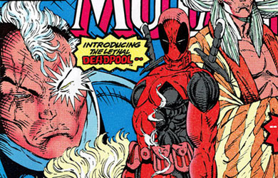 First Appearance of Deadpool in New Mutants 98