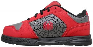 marvel boys spiderman skate shoes image